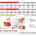 Presentation Folders & Sales Sheets