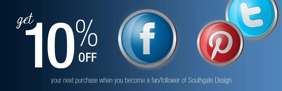 Like Us Facebook/Twitter/Pinterest